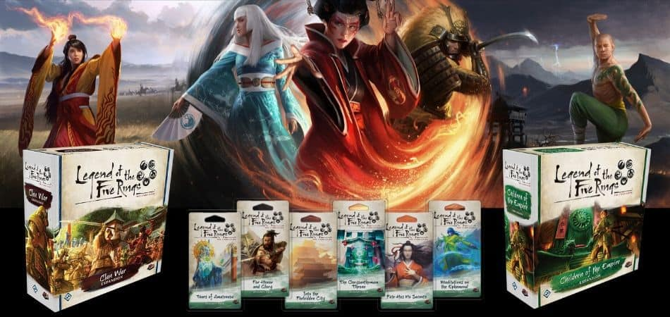 Legend of the Five Rings Card Game Expansions