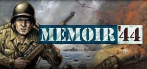 Memoir '44 Board Game Logo Featured Image