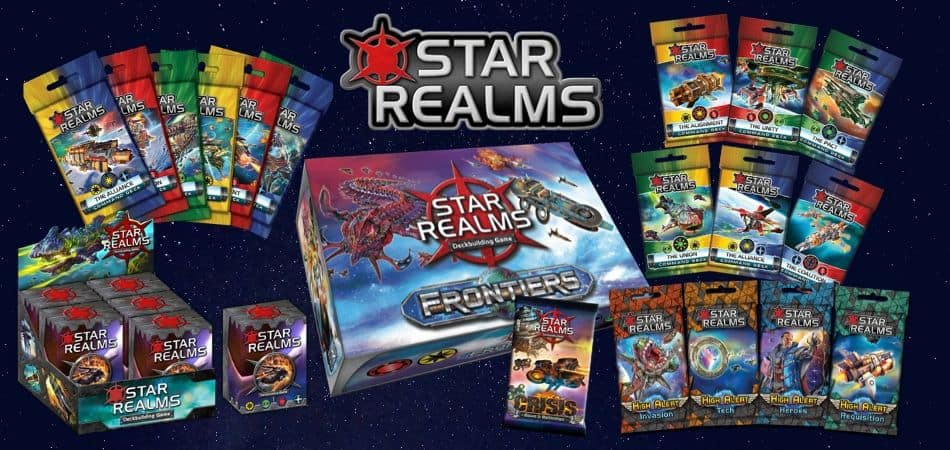 Star Realms Board Game Expansions