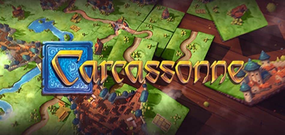 Carcassonne Board Game Logo and Featured Image