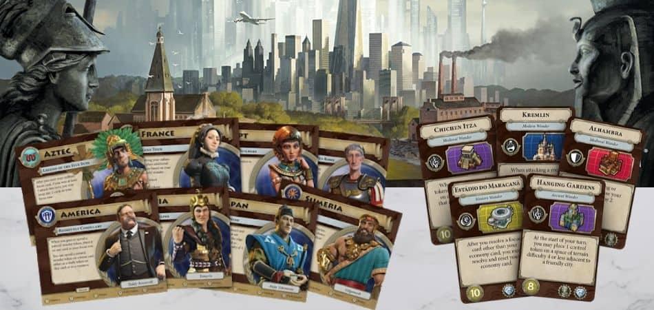 Civilization: A New Dawn Board Game
