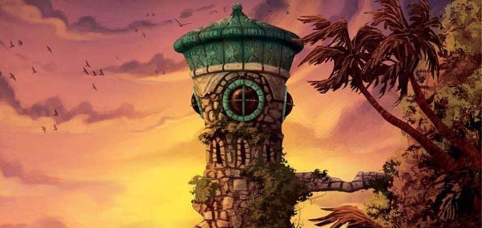 Forbidden Island Board Game Art