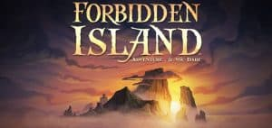 Forbidden Island Board Game Logo Featured Image
