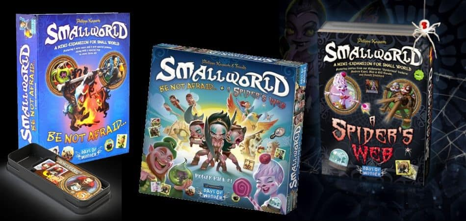 Small World: Power Pack 1 - Be Not Afraid & A Spider's Web