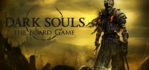 Dark Souls Board Game Header Image with Logo