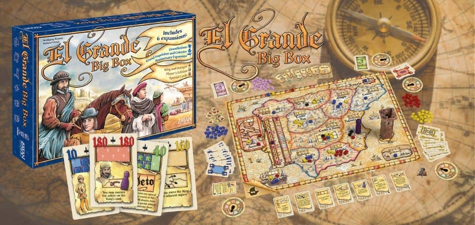El Grande Big Box Board Game