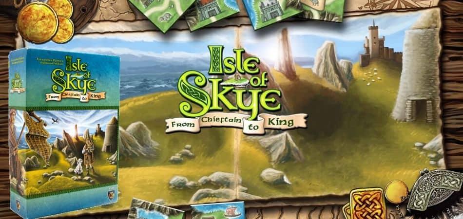Isle of Skye Board Game Box and Logo Header