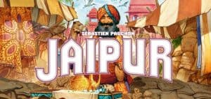 Jaipur Board Game Header Image and Logo