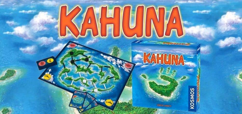 Kahuna Board Game Box and Board Setup