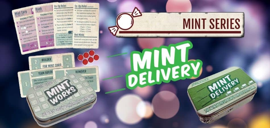 Mint Works and Mint Delivery Board Games