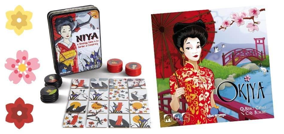 Niya and Okiya Board Games