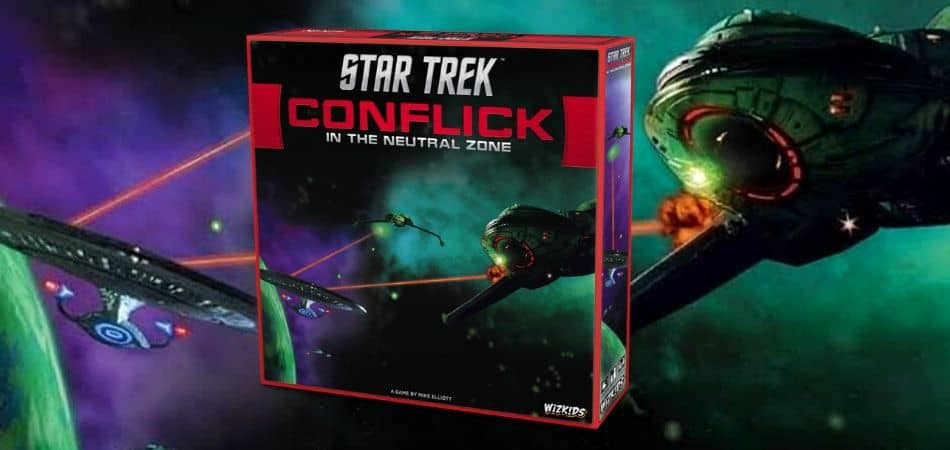 Star Trek: Conflick in the Neutral Zone Board Game