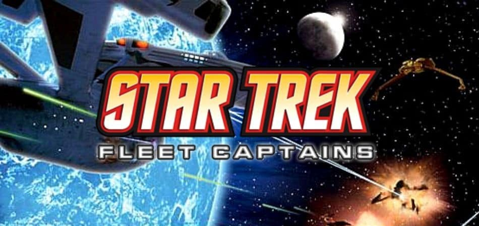 Star Trek Fleet Captains Board Game Header Image and Logo