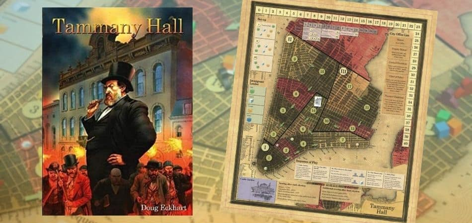 Tammany Hall Board Game