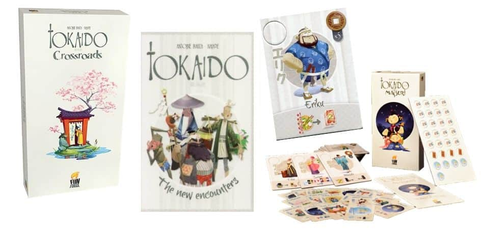 Tokaido Board Game Expansions