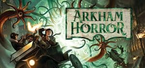 Arkham Horror Board Game Logo Featured Image