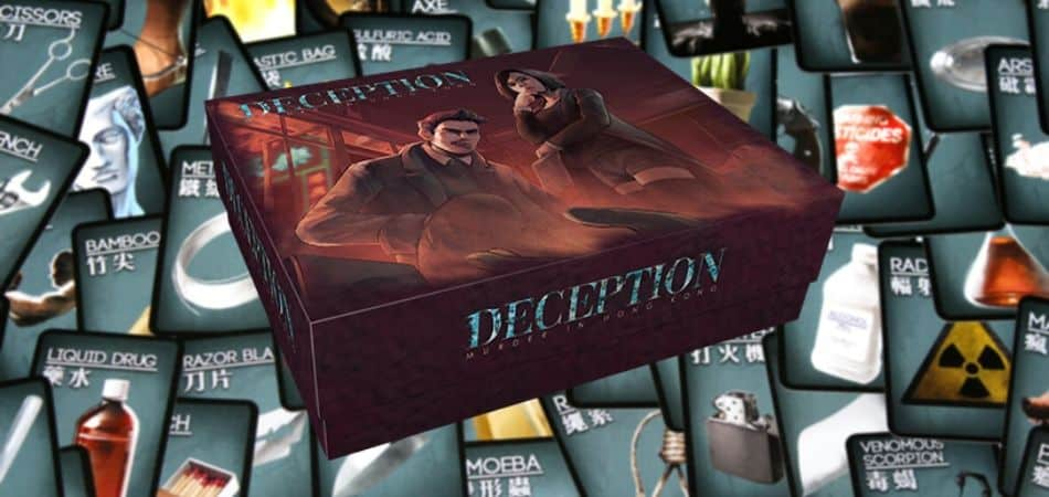 First game of Deception: Murder in Hong Kong