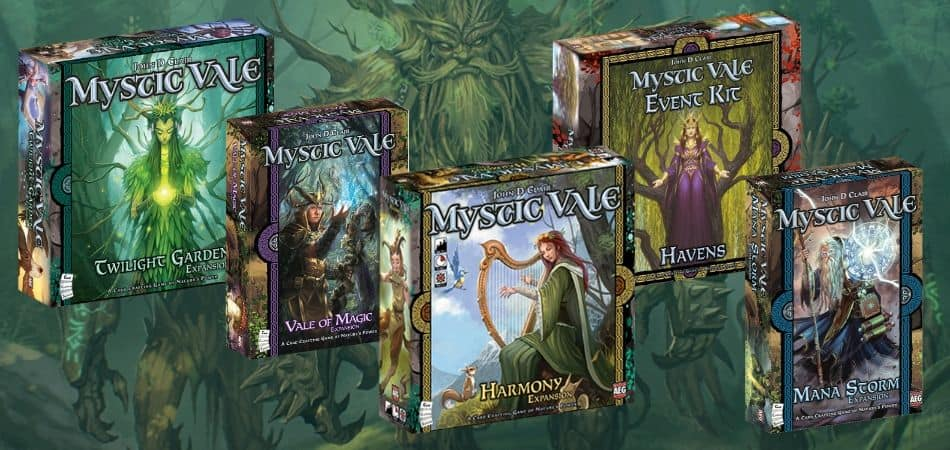 Examples Versions and Expansions of the Mystic Vale Card Game