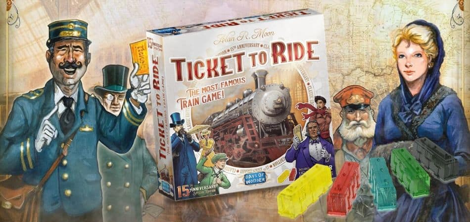 Ticket to Ride: anniversary edition