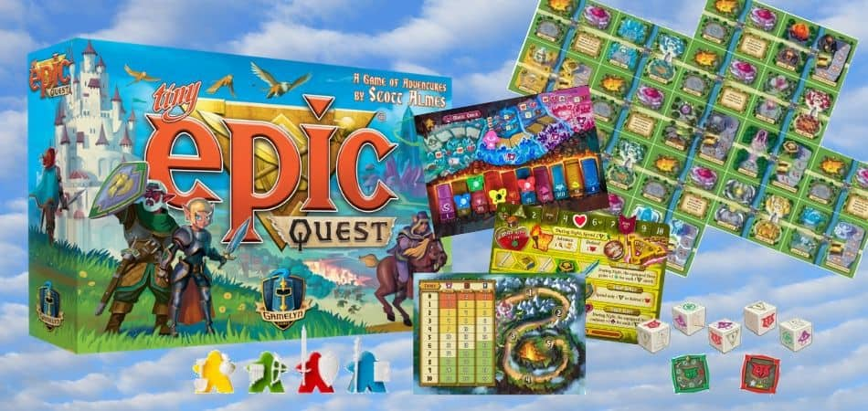 Tiny Epic Quest Board Game