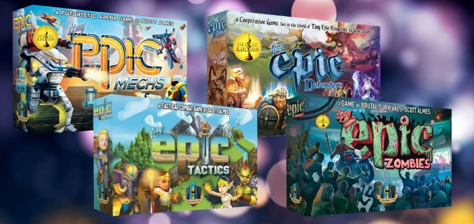 Tiny Epic Board Game Versions