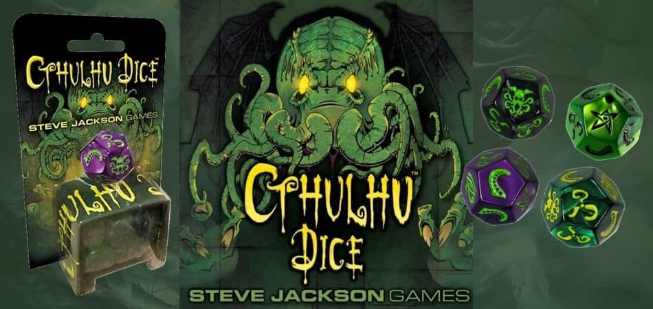 Cthulhu Dice Board Game