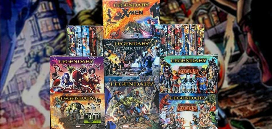Marvel Legendary Board Game Expansions