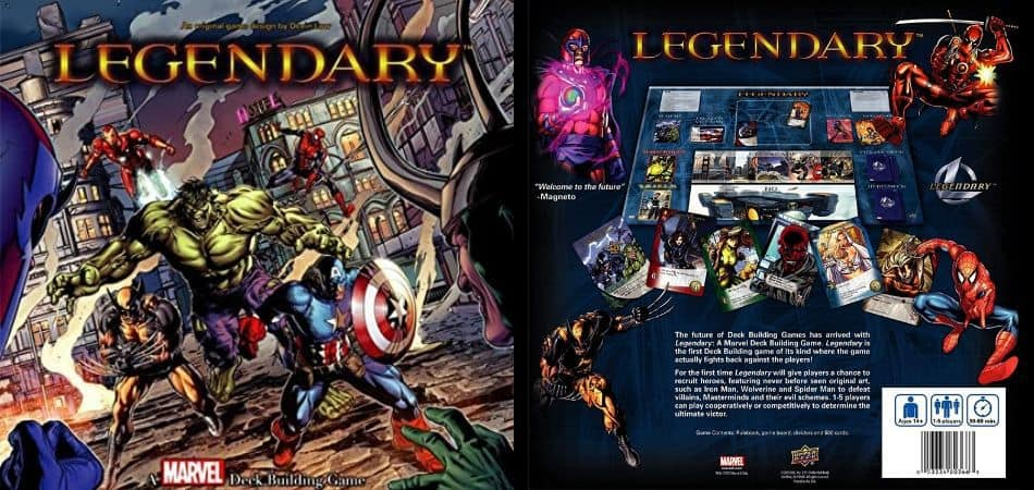 Marvel Legendary Board Game Unboxing
