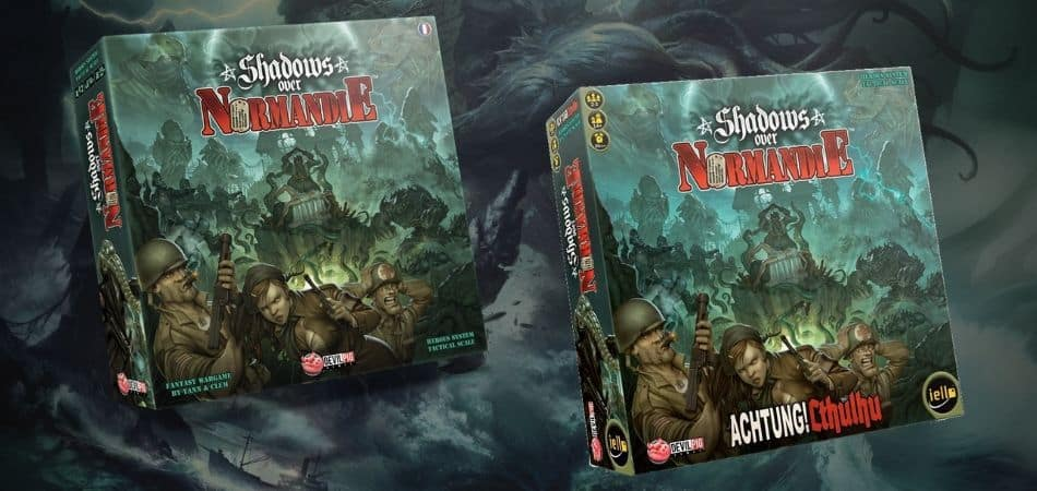 Shadows Over Normandie Board Game