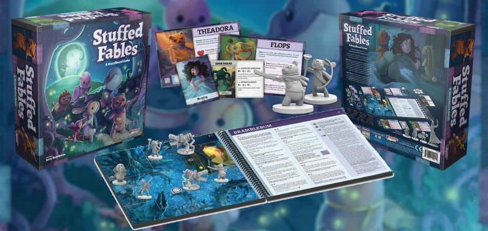 Unboxing Stuffed Fables