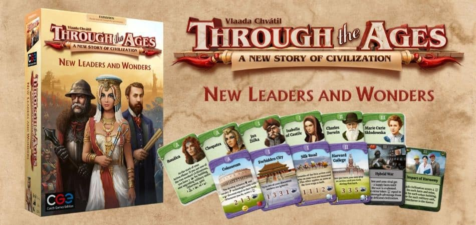 Through The Ages Board Game Expansion