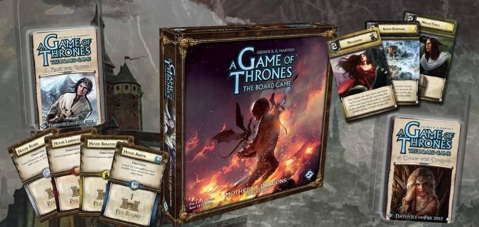 A Game of Thrones Board Game Expansions