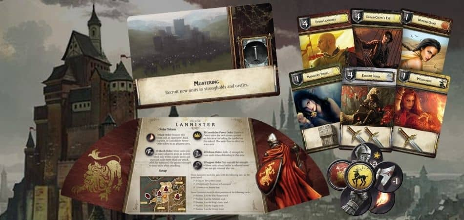 Your First Game of A Game of Thrones: The Board Game