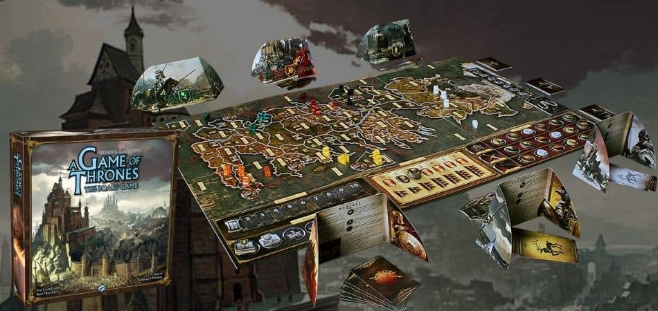 How to Play A Game of Thrones: The Board Game
