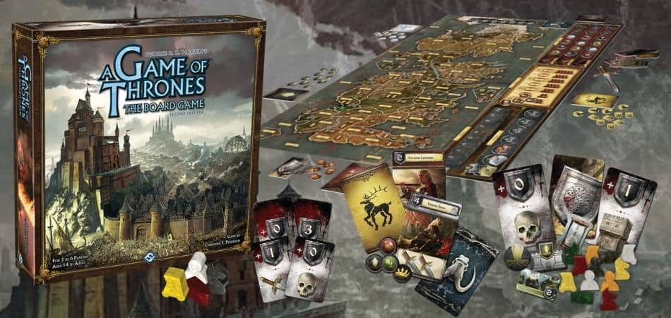 Unboxing A Game of Thrones: The Board Game