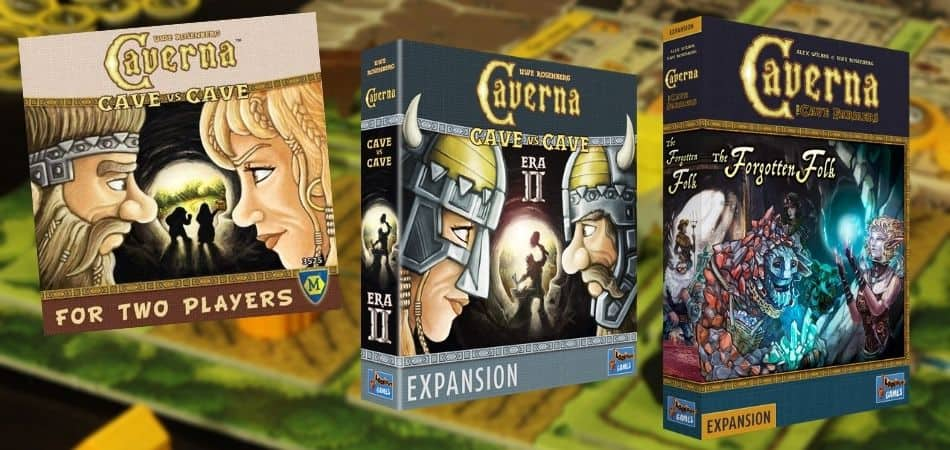Caverna Board Game Expansions