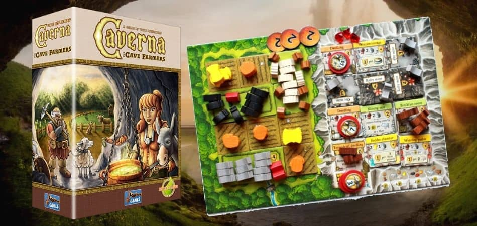 How to Play Caverna The Cave Farmers Board Game