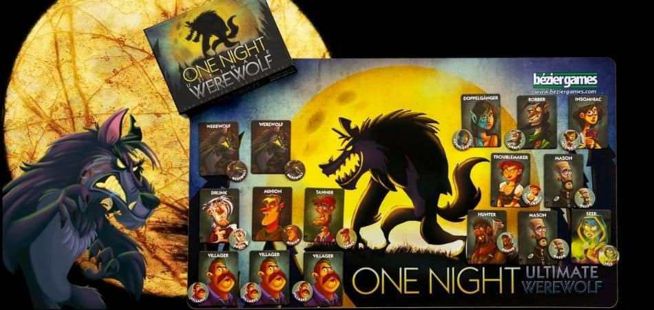 Unboxing One Night Ultimate Werewolf