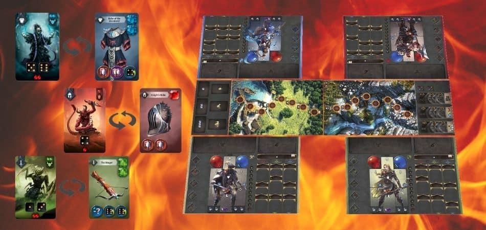 Sanctum Board and Card Demo