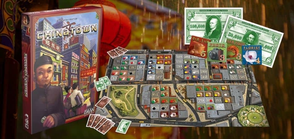 Chinatown Board Game