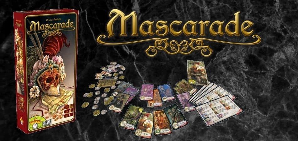 Mascarade Board Game