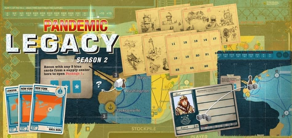 How to Play Pandemic Legacy: Season 2