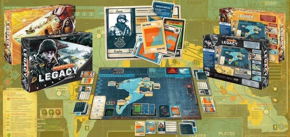 Unboxing Pandemic Legacy: Season 2