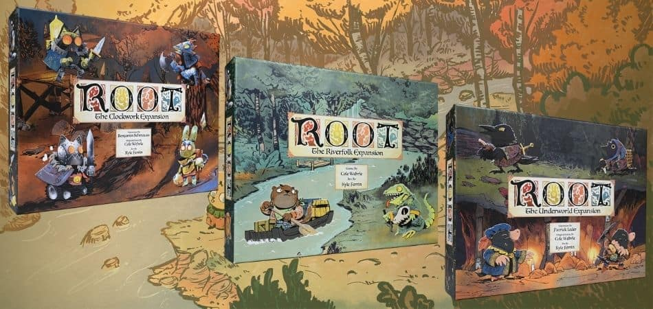 Versions & Expansions of Root Board Game