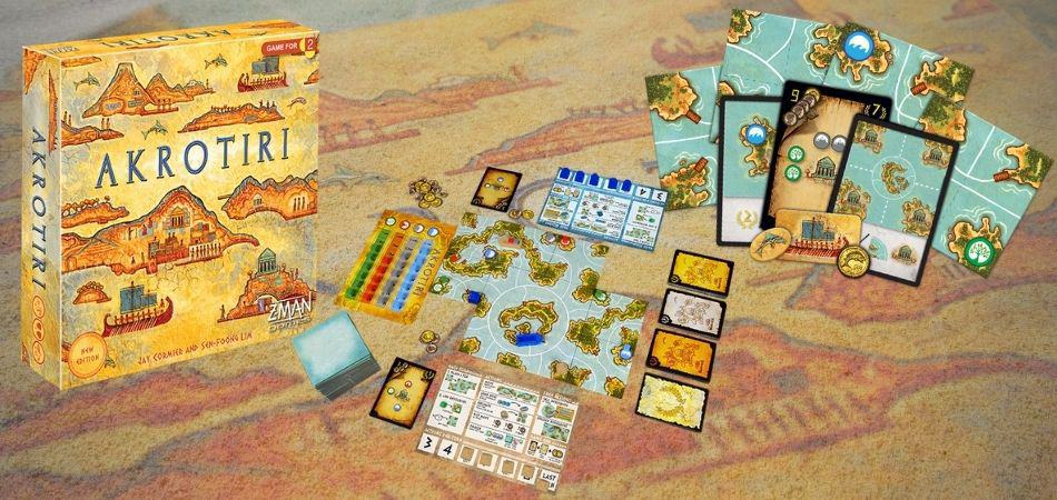 Akrotiri Box and Components