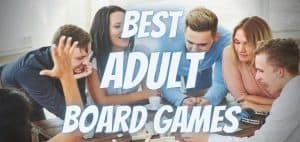 Best Adult Board Games and Party Games Featured