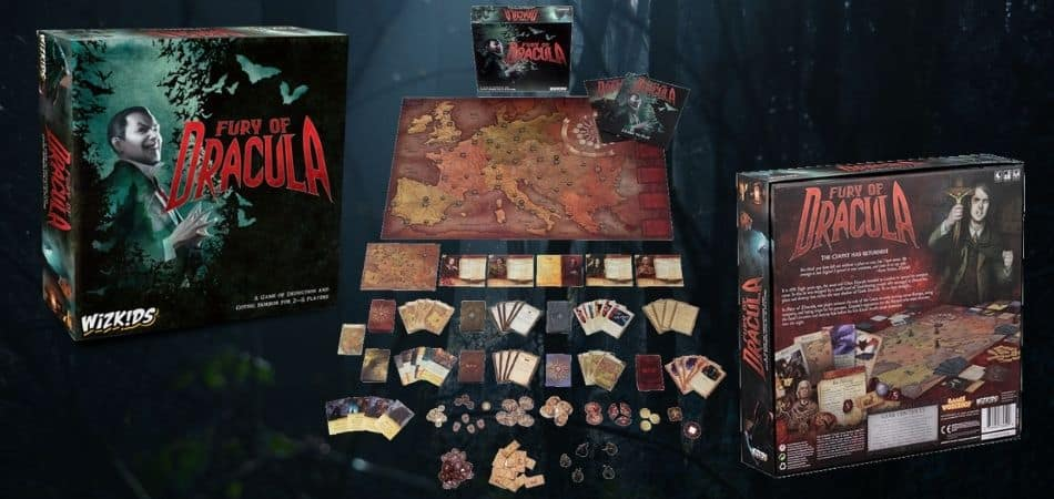 Fury of Dracula Box Front and Back
