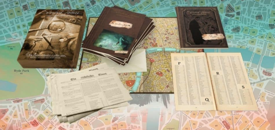 Sherlock Homes Map and Components