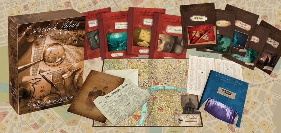 Box and Components Sherlock Holmes