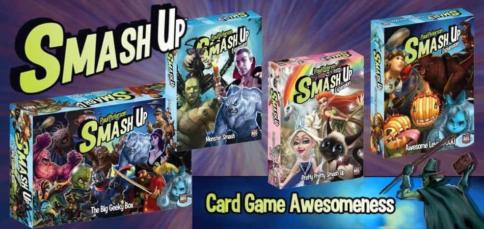 Smash Up Expansion Packs
